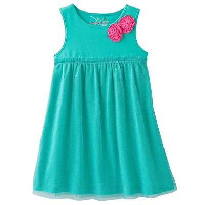 Jumping Beans Solid Tulle Dress - Toddler