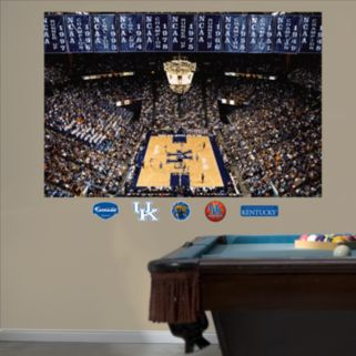 Fathead Kentucky Wildcats Basketball Arena Mural Wall Decals