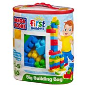 Mega Bloks 80-pc. First Builders Big Building Bag - Classic