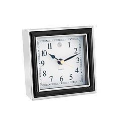 Natico Black Alarm Clock