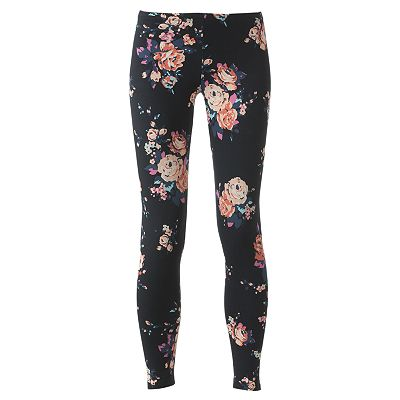 SO Floral Leggings - Juniors