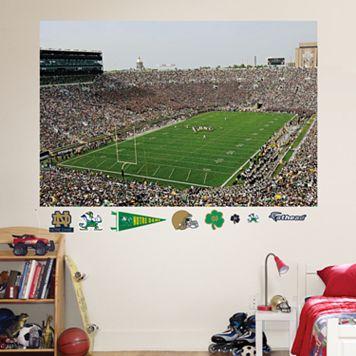 Fathead Notre Dame Fighting Irish Stadium Mural Wall Decals