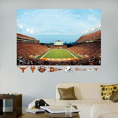 Fathead Texas Longhorns Stadium Mural Wall Decals
