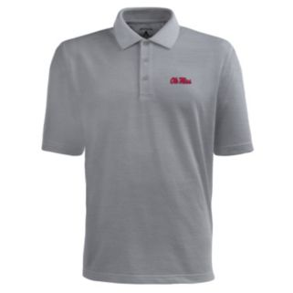 Men's Antigua Ole Miss Rebels Pique Xtra Lite Polo