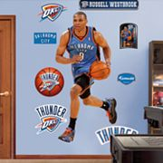 Fathead Oklahoma City Thunder Russell Westbrook Wall Decals