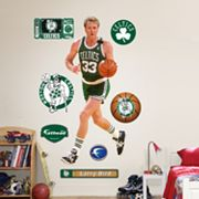 Fathead Boston Celtics Larry Bird Wall Decals