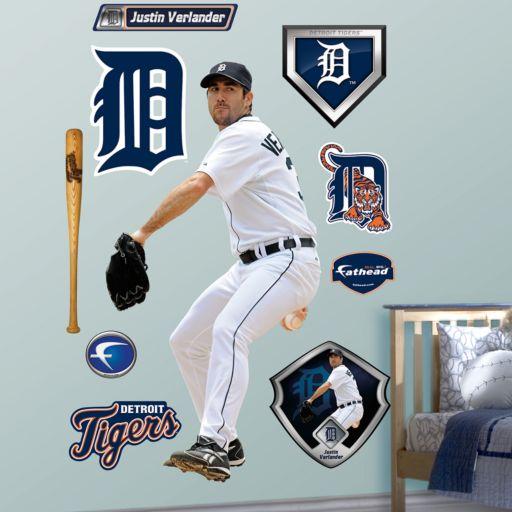 Fathead Detroit Tigers Justin Verlander Wall Decals