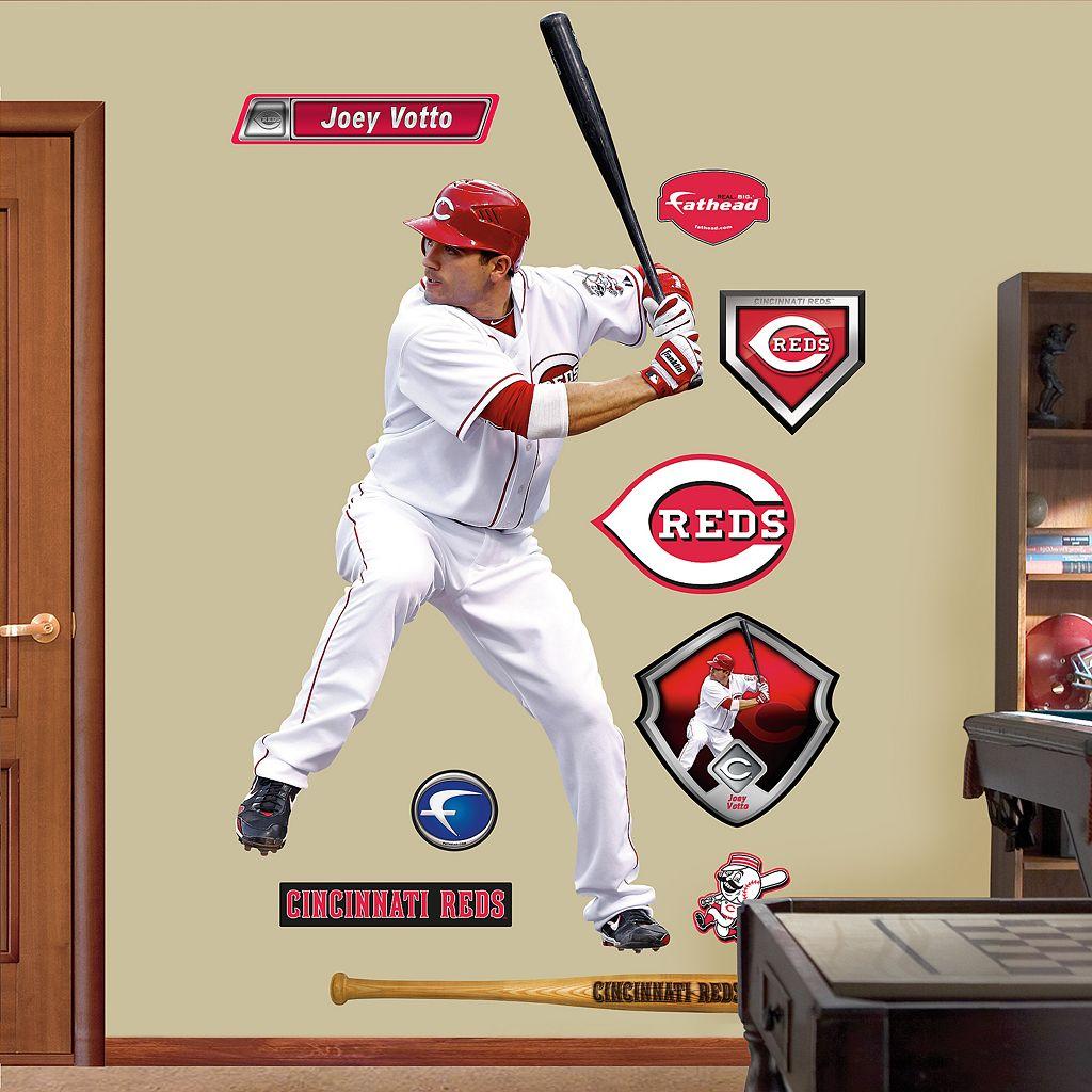 Fathead Cincinnati Reds Joey Votto 10-Piece Wall Decals