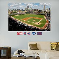 Fathead Chicago Cubs Wrigley Field Mural Wall Decals