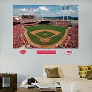 Fathead Cincinnati Reds Great American Ball Park Mural Wall Decals