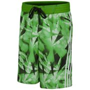 adidas Blue Diamond Microfiber Volley Swim Trunks