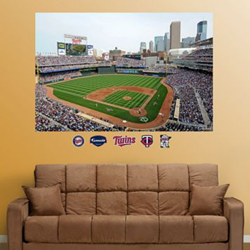 Fathead Minnesota Twins Target Field Mural Wall Decals