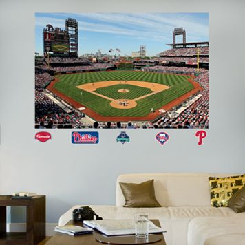 Fathead Philadelphia Phillies Citizens Bank Park Mural Wall Decals