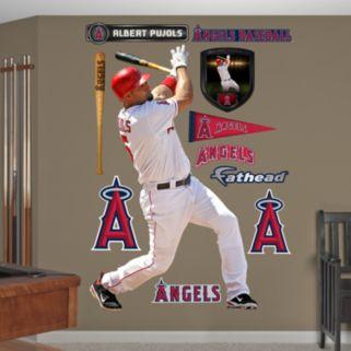 Fathead Los Angeles Angels Albert Pujols Wall Decals