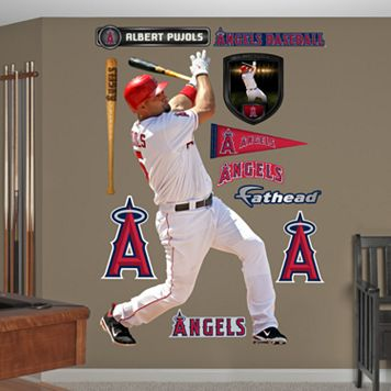 Fathead Los Angeles Angels Albert Pujols Wall Decals