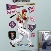 Fathead Washington Nationals Bryce Harper Wall Decals