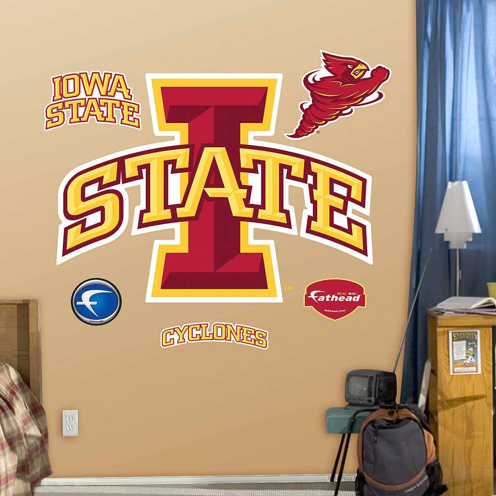 Fathead Iowa State Cyclones Logo Wall Decals