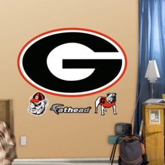 Fathead Georgia Bulldogs Logo Wall Decals