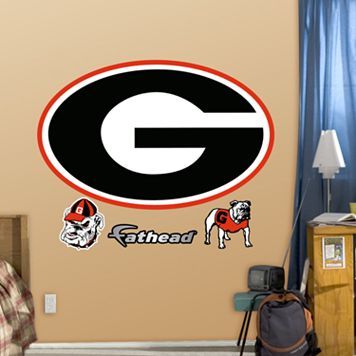 Fathead Georgia Bulldogs Logo Wall Decals