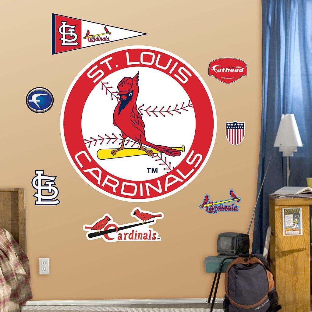 Fathead St. Louis Cardinals Logo Wall Decals
