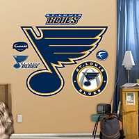 Fathead St. Louis Blues Logo Wall Decals