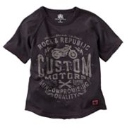 Rock and Republic Custom Motors Raglan Tee - Boys 4-7x