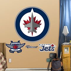 Fathead Winnipeg Jets Logo Wall Decals