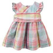 Chaps Plaid Poplin Sundress - Baby