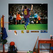 Fathead FC Barcelona Lionel Messi Mural Wall Decals