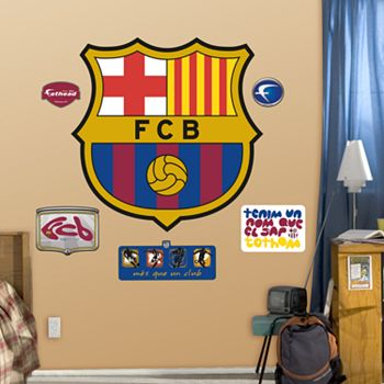 Fathead FC Barcelona Logo Wall Decals