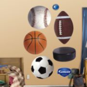 Fathead Sports Balls Wall Decals