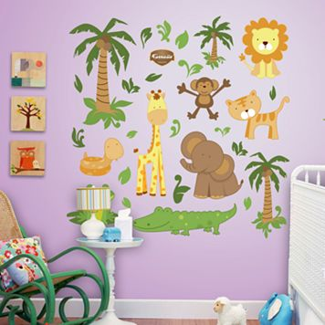 Fathead Zoo Wall Decals