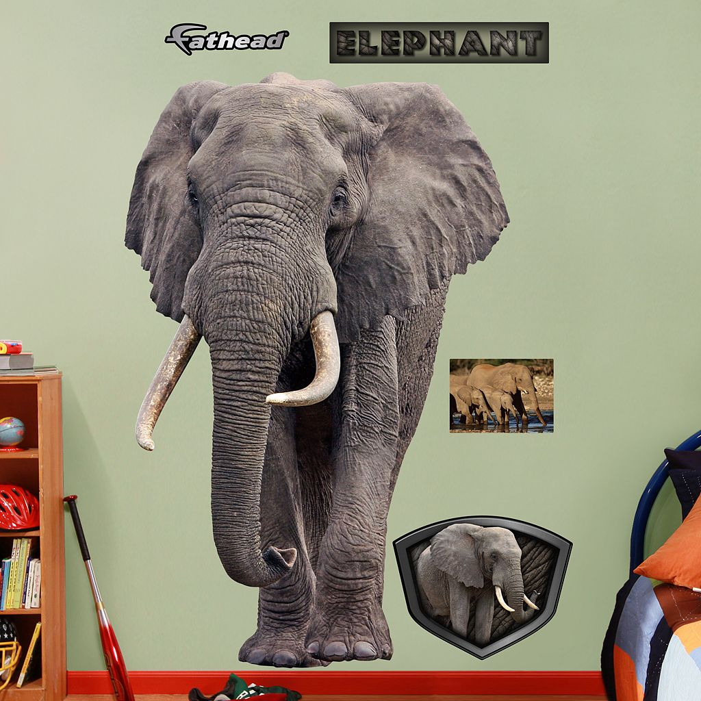Fathead Elephant Wall Decals