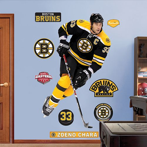 Fathead Boston Bruins Zdeno Chara Wall Decals