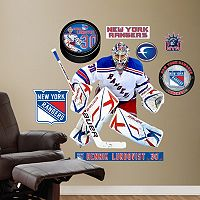 Fathead New York Rangers Henrik Lundqvist Wall Decals