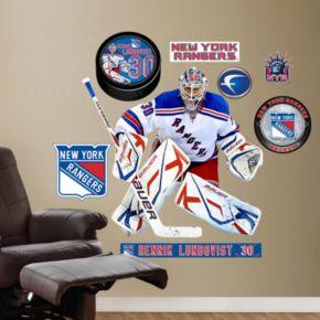 Fathead New York Rangers Henrik Lundqvist Wall Decals