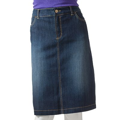 Croft and Barrow Denim Skirt