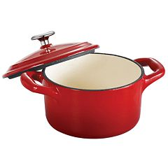 Tramontina Enameled Cast-Iron 10 1/2-oz. Mini Cocotte