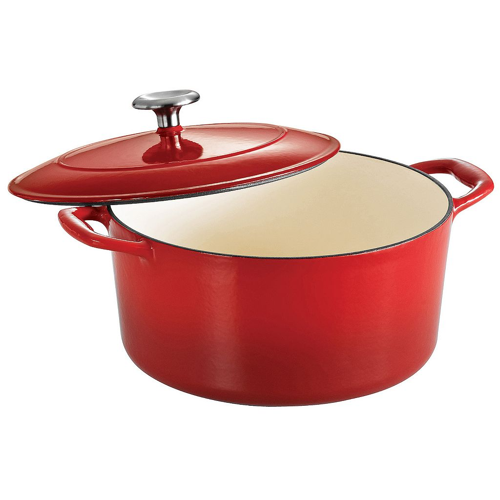 Tramontina Enameled Cast-Iron 5 1/2-qt. Dutch Oven
