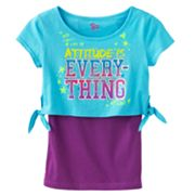 SO Attitude is Everything Crop Tee and Tank Set - Girls Plus