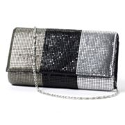 Gunne Sax by Jessica McClintock Mesh Colorblock Clutch