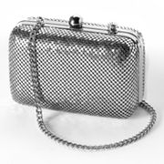 Gunne Sax by Jessica McClintock Sequin Hard-Case Clutch