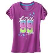 SO Love and Sports Tee - Girls Plus