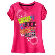 SO Soccer Girls Rock Tee - Girls Plus