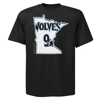 Minnesota Timberwolves Ricky Rubio State Player Tee - Men