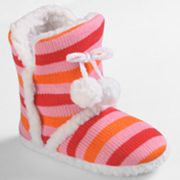 Journee Collection Mimi Slipper Boots - Girls