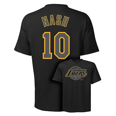 Los Angeles Lakers Steve Nash Player Tee - Men
