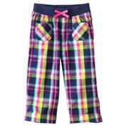 Jumping Beans Plaid Capris - Girls 4-7