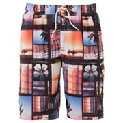 SONOMA life + style Ocean View Swim Trunks - Big and Tall
