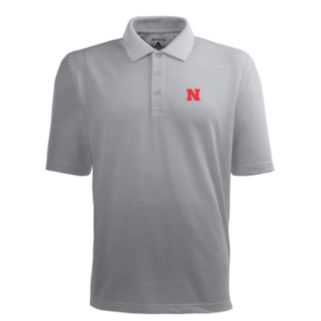Men's Nebraska Cornhuskers Pique Xtra Lite Polo